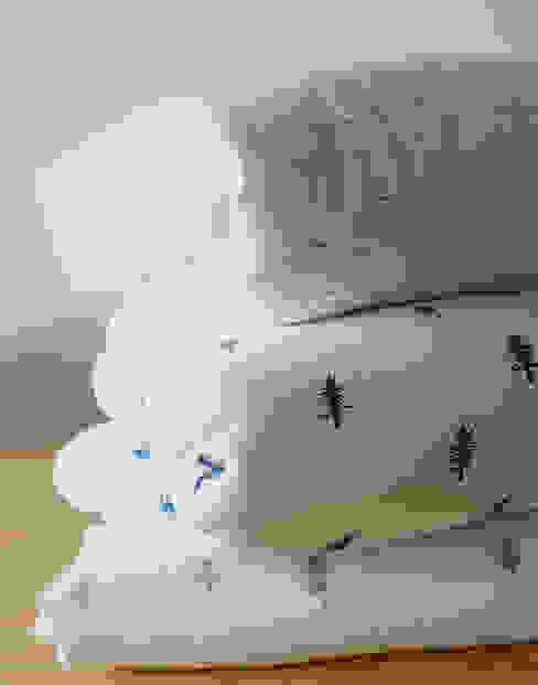 Acolchados para cama y cuna estampados bla bla textiles Dormitorios infantiles Camas y cunas Algodón Blanco