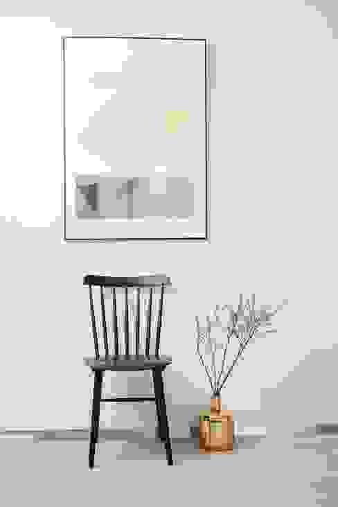분당구 수내동 아파트 (before& after) : 샐러드보울 디자인 스튜디오의  다이닝 룸,모던