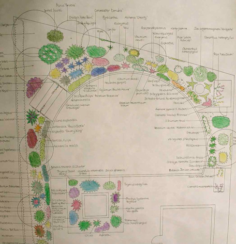 Planting design: country  by Jane Harries Garden Designs, Country