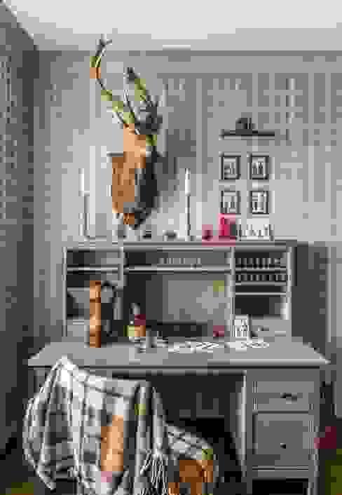 Квартира на ул. Есенина Belimov-Gushchin Andrey Рабочий кабинет в скандинавском стиле