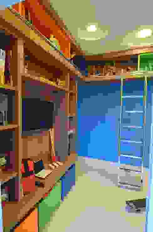 ห้องนอนเด็ก by Cabral Arquitetura Ltda.