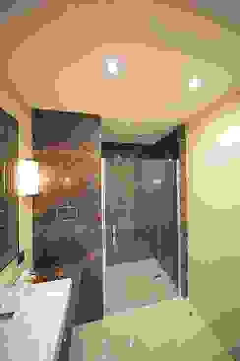 TEKNİK YAPI ÖRNEK DAİRE Modern Banyo Kerim Çarmıklı İç Mimarlık Modern