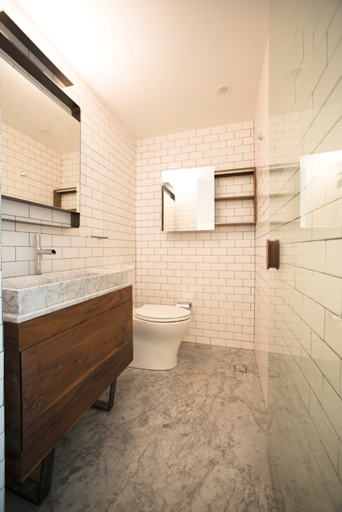 TW/A Architectural Group Modern Banyo