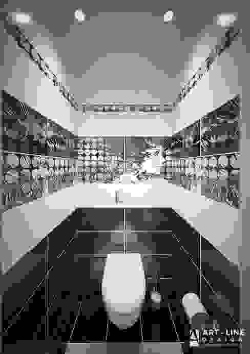 Трехкомнатная квартира Москва. Южное Бутово от Арт-лайн дизайн Минимализм