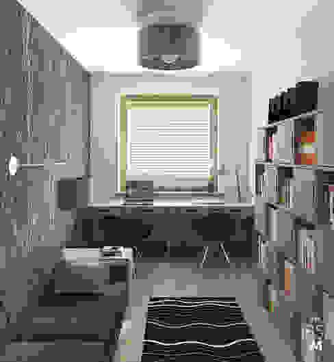 Moderne Arbeitszimmer von 1852M Modern