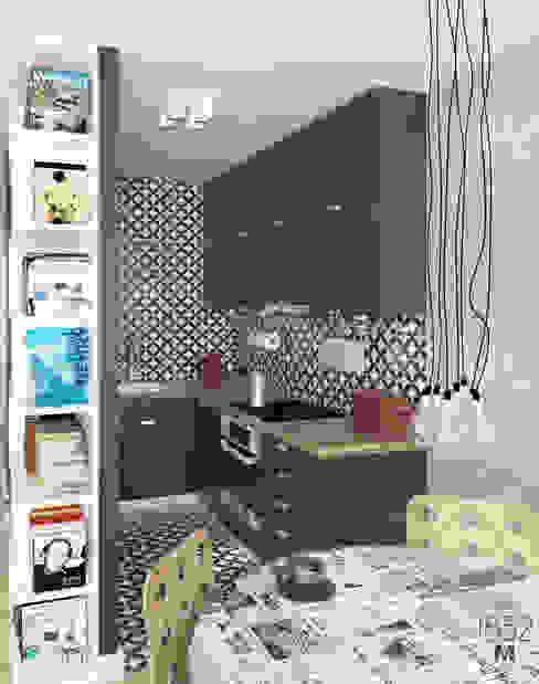 Cucina moderna di 1852M Moderno