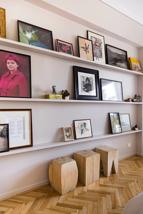 Salas de estar modernas por ezequielabad Moderno