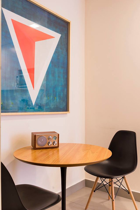 Salas de jantar modernas por ezequielabad Moderno