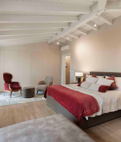 Interior Design e Progettazione | Villa I Gelsi Camera da letto moderna di Studio Maggiore Architettura Moderno