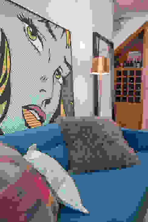Nowoczesny salon od Duplex Interiores Nowoczesny
