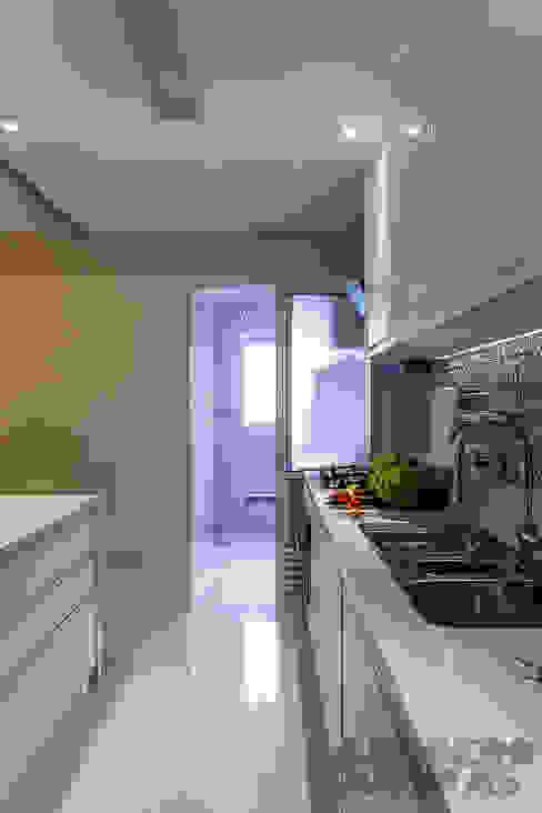 Cocinas de estilo  por Martins Valente Arquitetura e Interiores