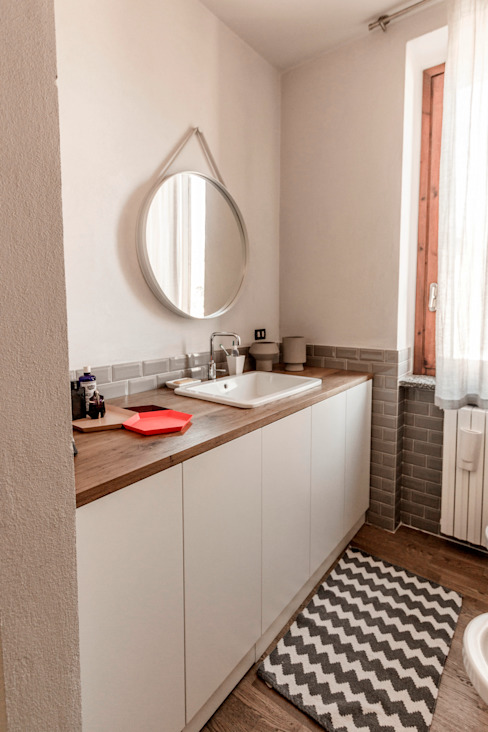 Scandinavian style bathroom by Galleria del Vento Scandinavian