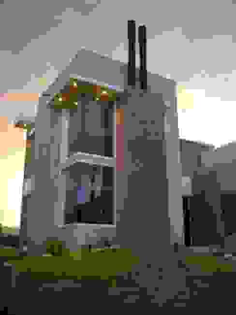 Vivienda La Estanzuela: Casas de estilo  por Arquitectos Positivos,Moderno