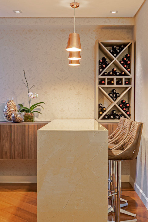 Bodegas de vino de estilo clásico de Studio Boscardin.Corsi Arquitetura Clásico