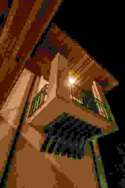 Balcones y terrazas de estilo rural de Pimodek Mimari Tasarım - Uygulama Rural
