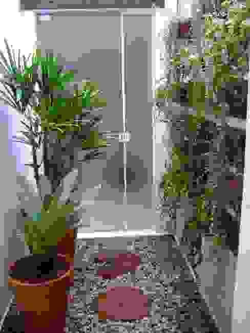MC3 Arquitetura . Paisagismo . Interiores Jardines de invierno de estilo rústico