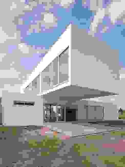 Estudio Arquitecta Mariel Suarez 미니멀리스트 주택