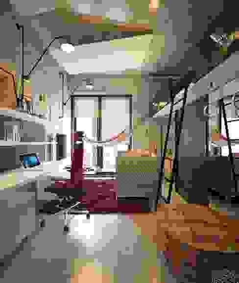 Детская в стиле лофт Детская комната в стиле лофт от Интерьеры от Марии Абрамовой Лофт