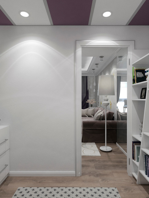 Dormitorios infantiles de estilo clásico de Студия дизайна интерьера Маши Марченко Clásico