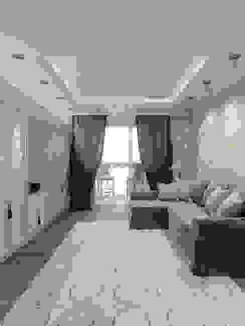Salas / recibidores de estilo  por Студия дизайна интерьера Маши Марченко, Clásico