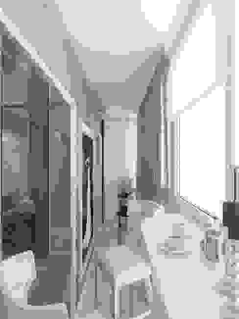 Terrazas de estilo  por Студия дизайна интерьера Маши Марченко, Clásico