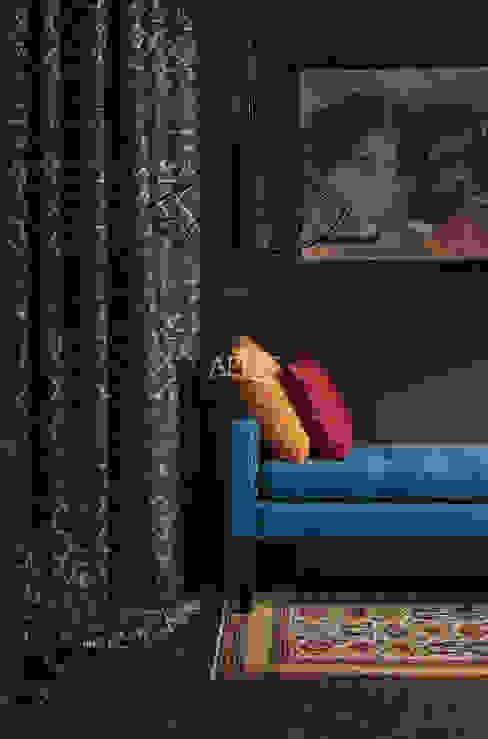 Easy Elegance - Vorhang und Kissen:  Wohnzimmer von Alfred Apelt GmbH,Modern