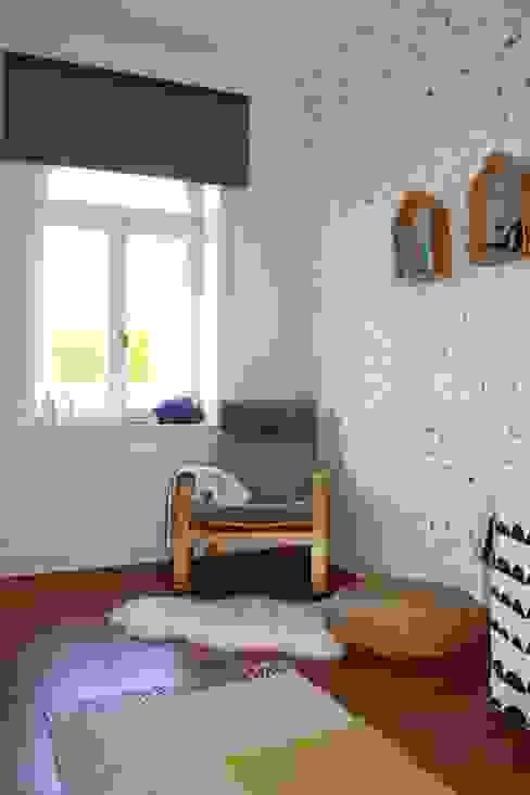 Skandynawski pokój dziecięcy od Mrs.Honeyfoot Skandynawski
