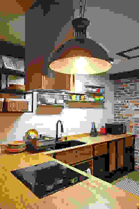 廚房 by 윤성하우징, 地中海風