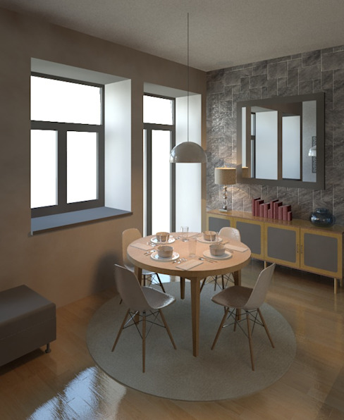 Sala Salas de estar modernas por Marta d'Alte Arquitetura Moderno
