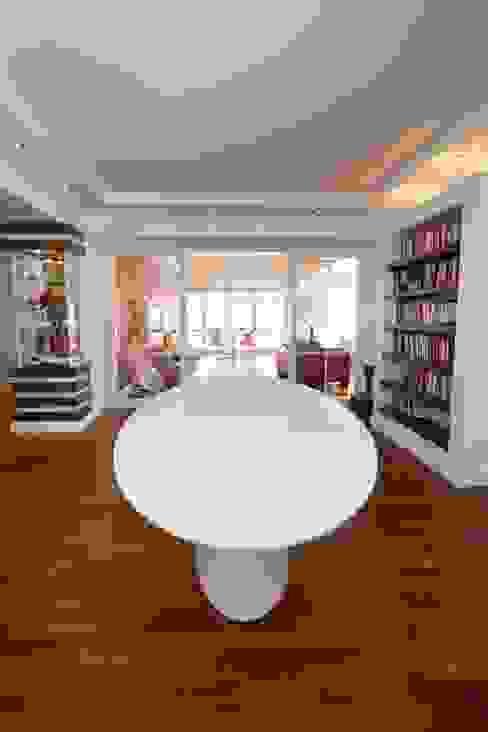 Aksoy Residence Modern Çalışma Odası BAGO MİMARLIK Modern