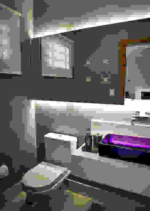 Lavabo INOVA Arquitetura Banheiros modernos Multi colorido