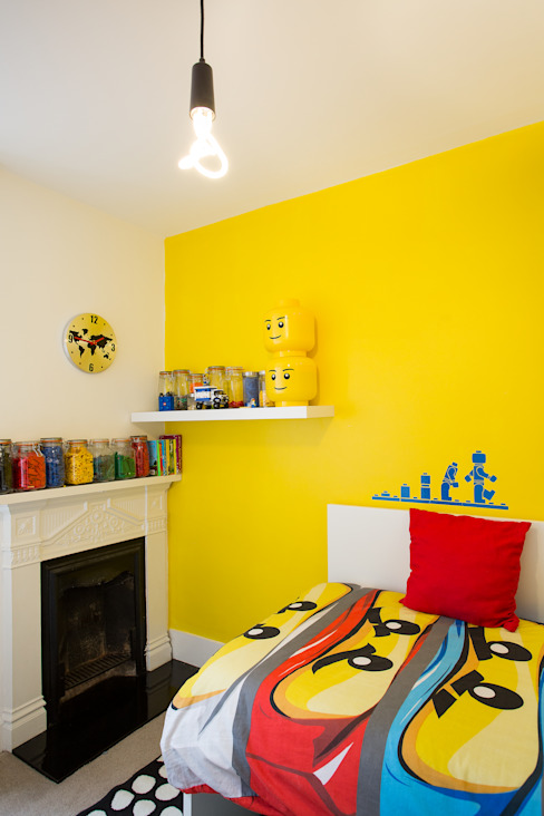 kids lego themed room من Urban Creatures Architects حداثي