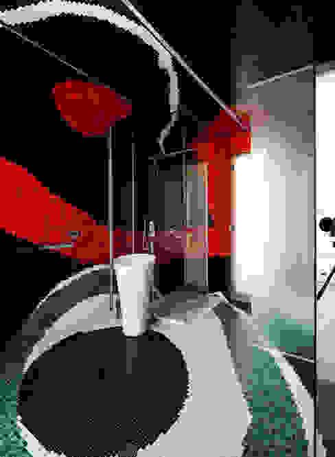 45° Baños de estilo moderno de Design Group Latinamerica Moderno