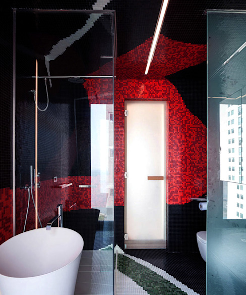 Bathroom by Design Group Latinamerica, Modern
