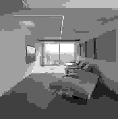 45° Salas de entretenimiento de estilo moderno de Design Group Latinamerica Moderno