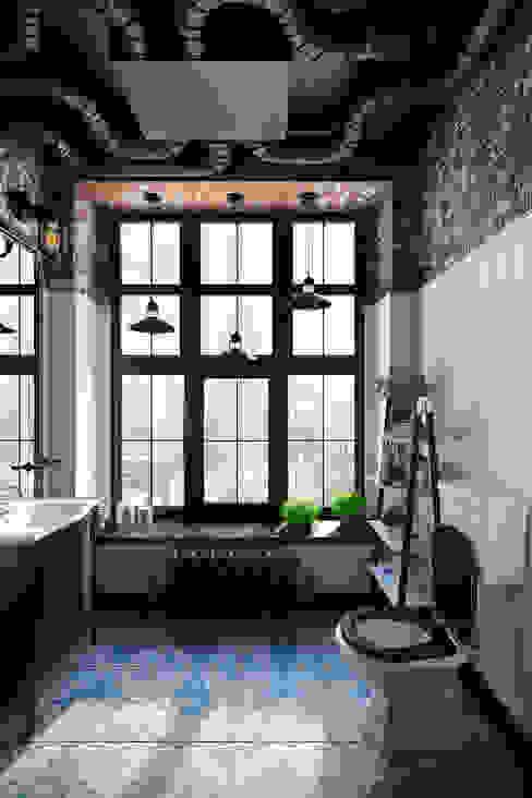 Baños de estilo industrial de Александра Клямурис Industrial