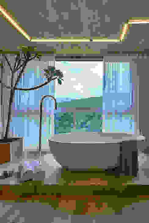 Modern hotels by Piacesi Arquitetos Modern