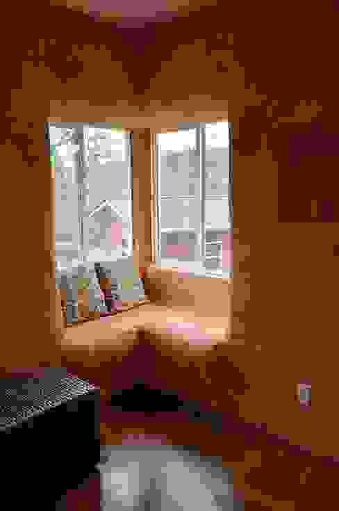 Saman - Kerpic Ev Modern Oturma Odası Eco House Turkey Saman - Kerpic Ev Modern