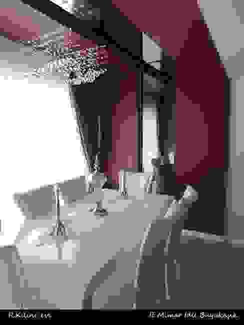 R. Kılınç Evi Modern Yemek Odası idiliçmimarlık Modern