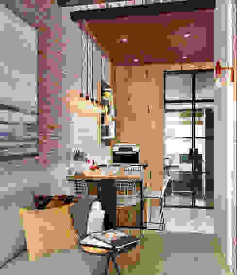 Living room by ONE STUDIO, Mediterranean