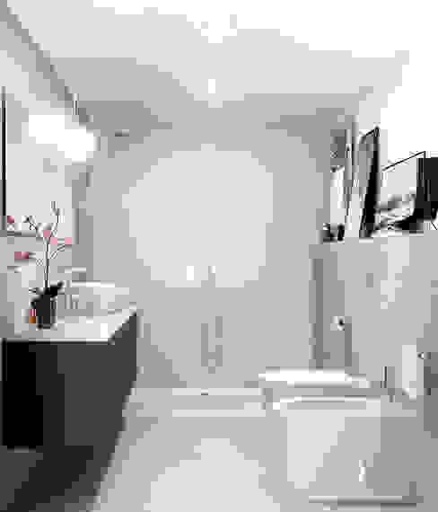 Baños de estilo moderno de Freelance3d Moderno