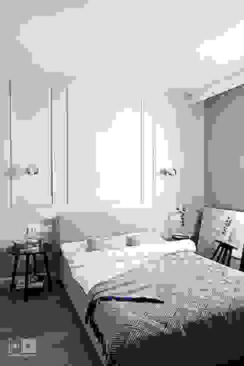 Dormitorios de estilo clásico de Hubert Dziedzic Architektura Wnętrz Clásico