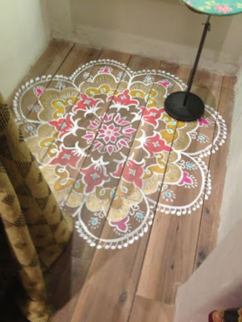INDIAN INTERIOR DESIGN srisutath Modern walls & floors
