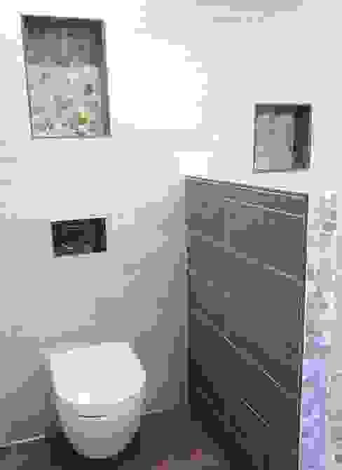 Rustic style bathroom by RG Intérieur Rustic