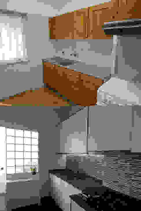 Cocinas de estilo moderno de Happy Ideas At Home - Arquitetura e Remodelação de Interiores Moderno