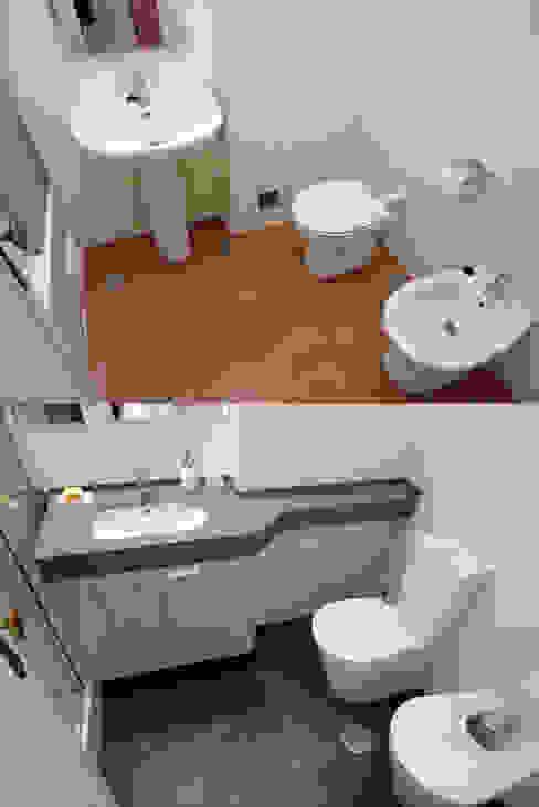 Baños de estilo moderno de Happy Ideas At Home - Arquitetura e Remodelação de Interiores Moderno
