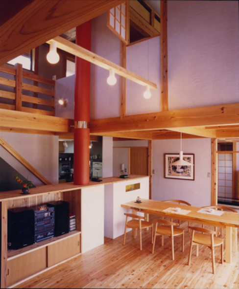아시아스타일 거실 by AMI ENVIRONMENT DESIGN/アミ環境デザイン 한옥