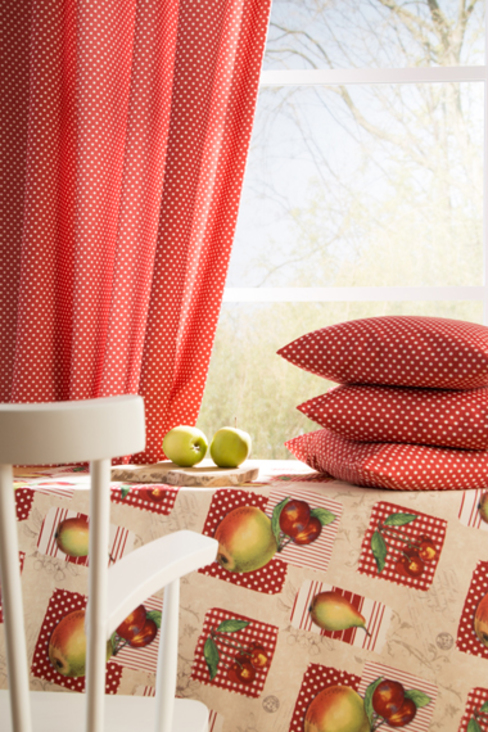 country  by Indes Fuggerhaus Textil GmbH, Country Textile Amber/Gold