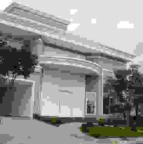 Residência alto padrão de dois pavimentos Casas clássicas por Penha Alba Arquitetura e Interiores Clássico