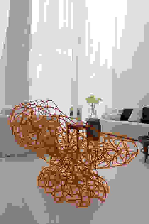 Casa Montenegro Salas de estar modernas por LM Arquitetura   Conceito Moderno